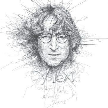 Vince Low – Artista disléxico transforma rabiscos em desenhos