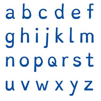 Fontes de texto para maximizar a legibilidade das letras